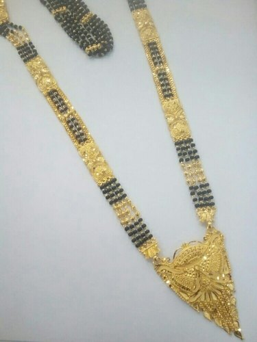 1 Gram Gold Mangalsutra, Size: 33, Rs 2600 /piece Sanghvi .