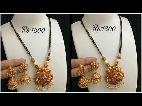 Latest 1 Gram gold mangalsutra Designs with price || 1 Gram gold .