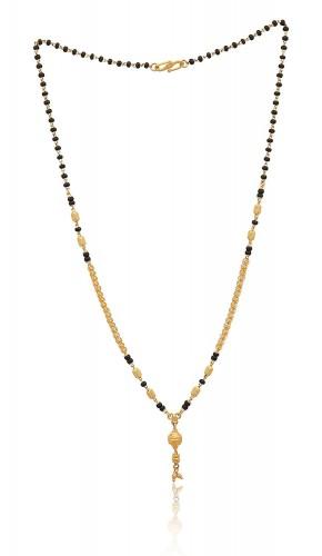1 Gm / Gram Gold mangalsutra For Women Sardarji Bentex Wall