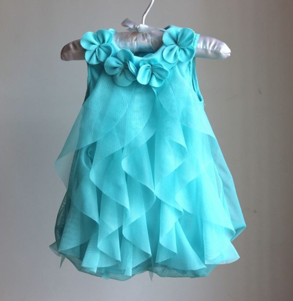 1 Year Birthday Dress Baby Girl Clothes Dresses & Headband .