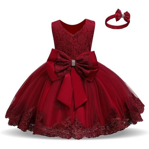 3M-5T Toddler Girl Dress Christmas Dress For Girl Red Tutu Dress .