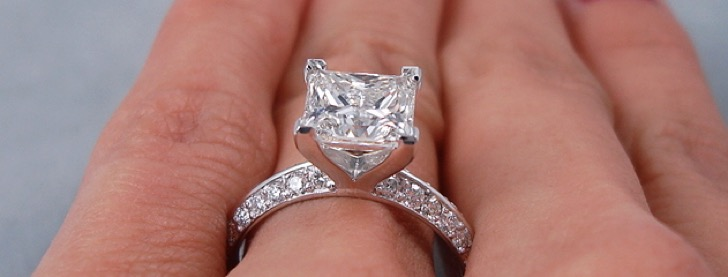 2 Carat Princess Cut Diamond Ring Guide - Best Color, Clarity, and .