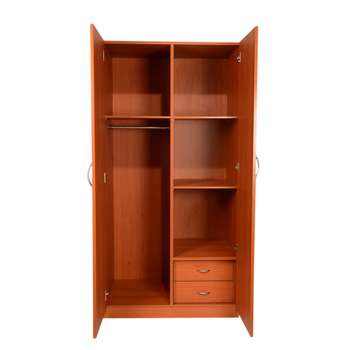 Uk Mdf Cupboard Furniture 2 Door Bedroom Wardrobe Design - Buy .