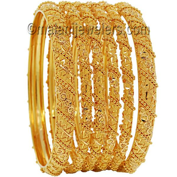 "Malani Jewelers on Twitter: ""22 Karat Gold Latest Design Bangles ."