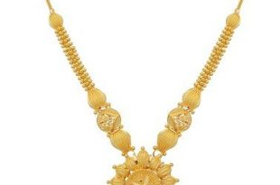 9 Beautiful 25 Grams Gold Necklace Designs In India (With images .