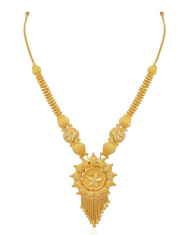 9 Beautiful 25 Grams Gold Necklace Designs In India | Styles At Li