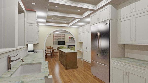 Home Kitchen Remodeling | 3D Kitchen Design Mod