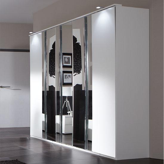 Best 4 Door Wardrobe Designs For Bedroom Interior - F