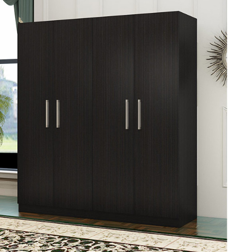 China Bedroom Furniture Customized Wooden 4 Door Wardrobe - China .