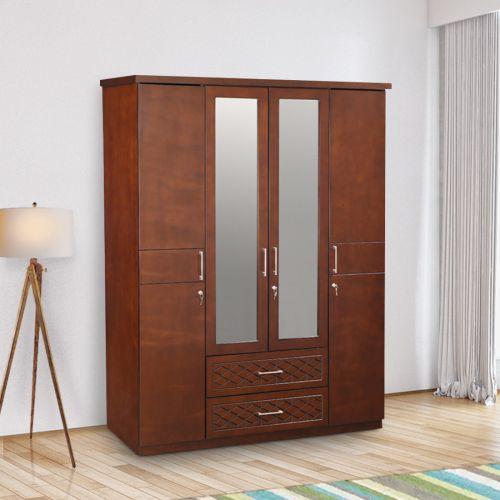 10 Best 4 Door Wardrobe Designs With Pictures | Styles At Li