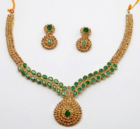 50 Grams Gold Necklace Designs - Latest Collection for Weddi