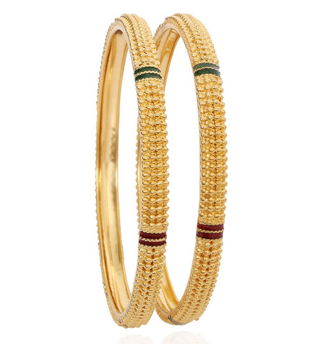 Golden Dummy Gold Bangles, Rs 32000 /pair Mayur Jewellers | ID .