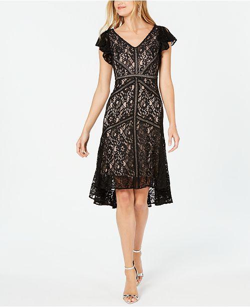 Taylor Lace A-Line Dress & Reviews - Dresses - Women - Macy