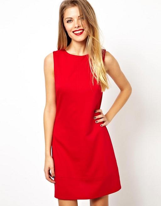 ASOS A-Line Shift Dress   AS