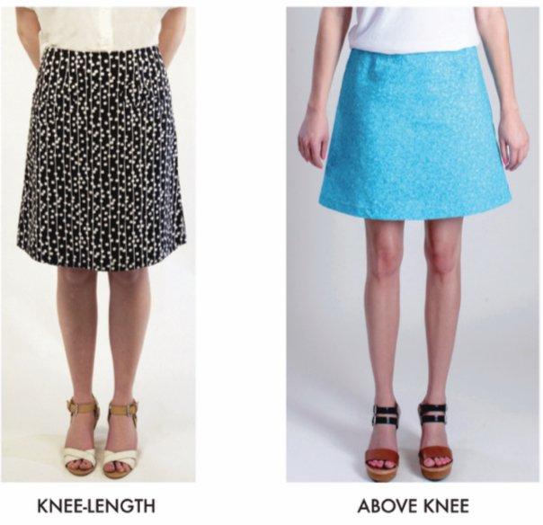 1511 A-Line Skirt – Portland Fashion Institute | Portland Sewi