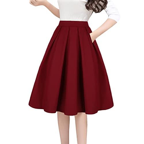A Line Skirt: Amazon.c