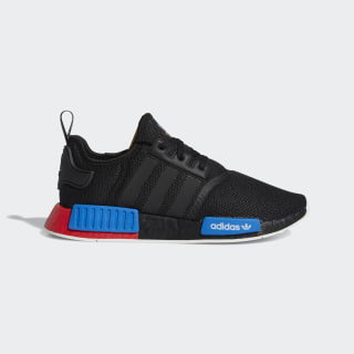 NMD R1 Core Black and Red Shoes | adidas