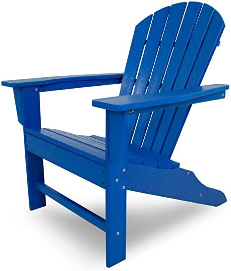 Amazon.com : POLYWOOD SBA15PB South Beach Adirondack Chair .