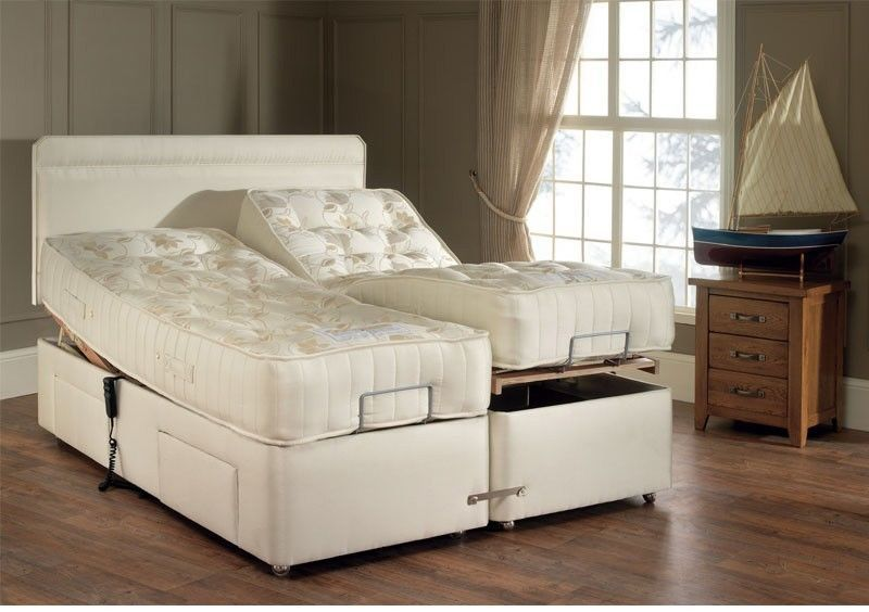 Padded Headboard and Enclosure for Adjustable Bed (latched .