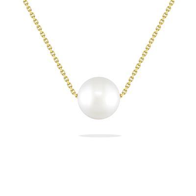 White Akoya Pearl Slider   Na Hoku - Hawaii's Finest Jewelers .