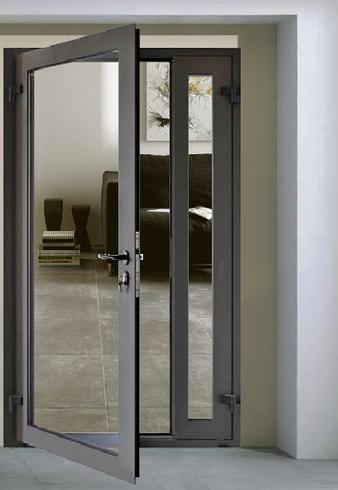 aluminum casement exterior door (With images)   Aluminium glass .