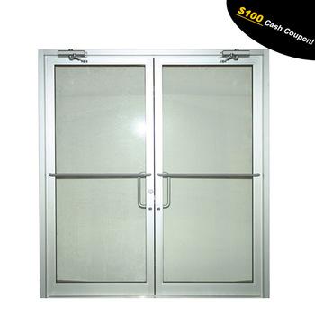 Luxury design aluminium front doors for office buildings, View .