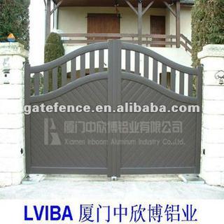 Gray Design Aluminium Gate,main Gate Designs,swing Gate: China .
