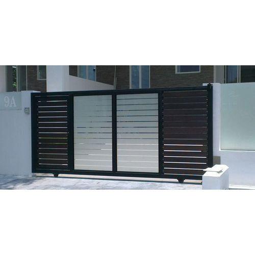 Aluminium Designer Gate, Aluminum Gate, एल्यूमिनियम .