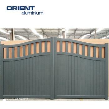 Aluminium Gate For House Morden Aluminium Main Gate Design - Buy .