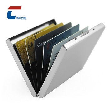 Promotional Rfid Blocking Aluminium Credit Card Wallet/wallet .