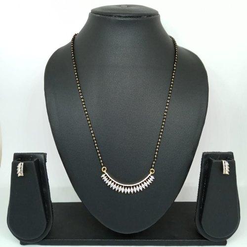 Bosslady Bollywood American Diamond Mangalsutra For Women, Rs 480 .