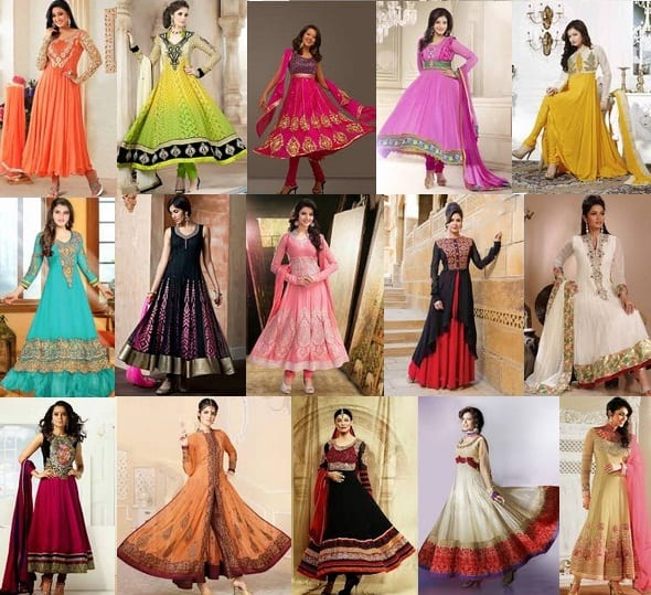 15 Simple and Heavy Anarkali Churidar Models 2020 | Styles At Li