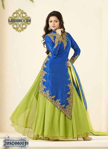 Party wear Designer Anarkali Salwar Suit, Rs 2600 /piece The .
