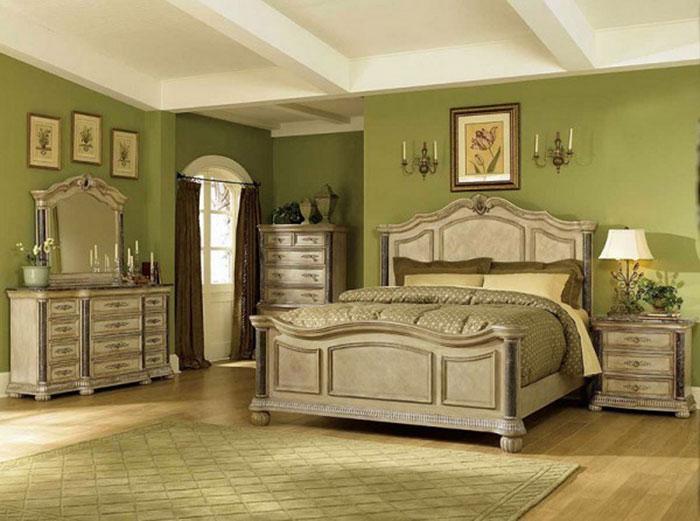 Antique Bedroom Ideas With Vintage Classy Desig