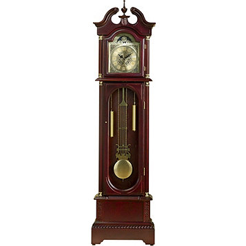 "Fingerhut - McLeland Design 72"" Grandfather Clock - Cher"