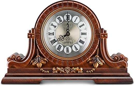 Amazon.com: Decodyne Mantel Clock - Large Antique Design Clock .