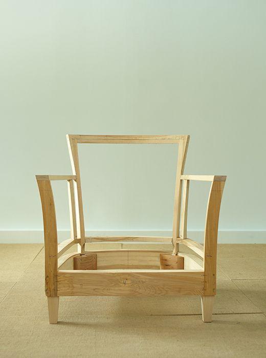 arm chair frame | Home room design, Diy chair, Cha