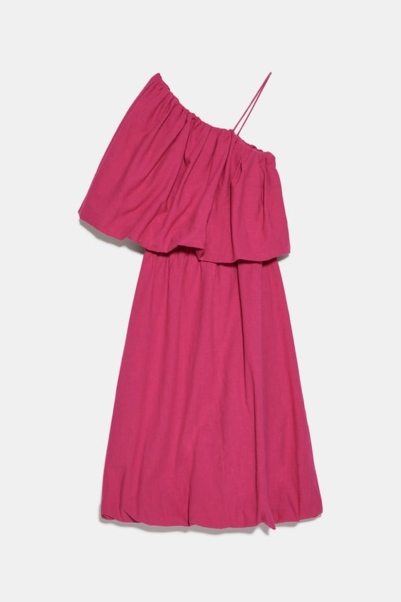 VOLUMINOUS ASYMMETRIC DRESS | ZARA United Stat