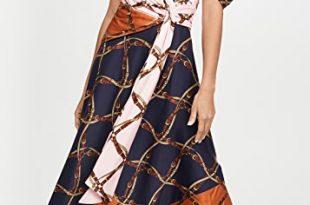 Jonathan Simkhai Saddle Print Print Asymmetric Dress | SHOPB