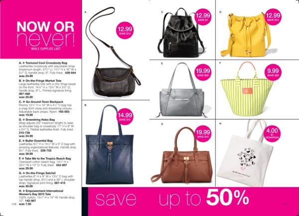 Avon Hand Bags