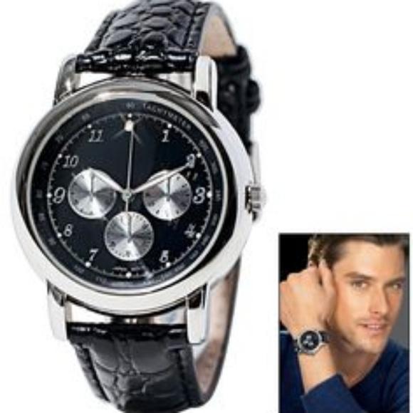Avon Accessories | 35 Mens Diamond Accent Watch By | Poshma