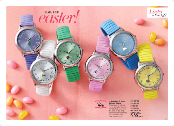 Avon Counting Critters Silicone Watches On Sale $9.99 | beautifulval