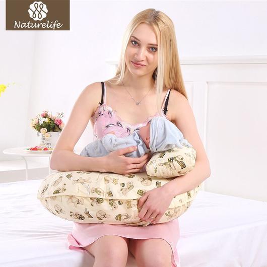 Naturelife Nursing Pillows Maternity Baby Breastfeeding Pillow .