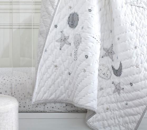 Skye Linen Baby Bedding | Crib Bedding | Pottery Barn Ki
