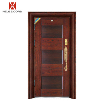 Simple Newest Design Back Door Security Steel Entry Doors With .