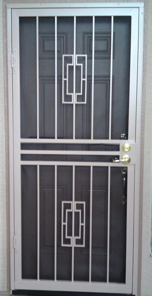 Custom Security Doors Phoenix (With images) | Security door design .