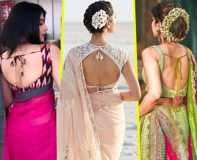 7 Backless Blouse Designs You Can Take Your Pick From & Head To .