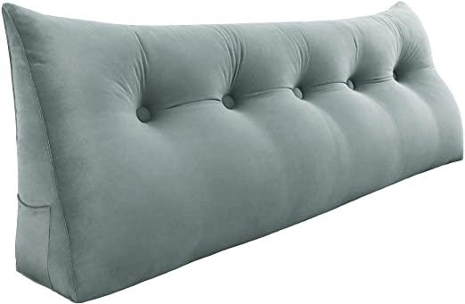 Amazon.com: Roner Triangular Wedge Cushion Large Backrest Cushion .