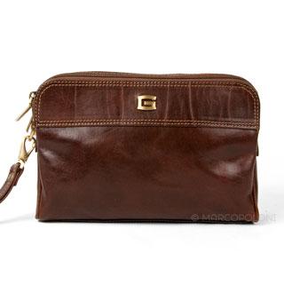 Handbags for Men: UOMO - Italian Leather Handbag for M