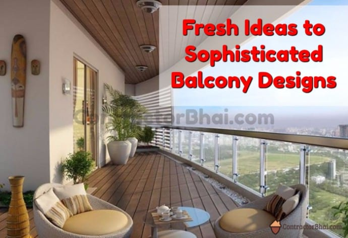Fresh Ideas for Stylish Terrace or Balcony - ContractorBh